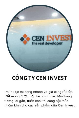 Phản hồi của đại diện Cen Invest về chất lượng thi công cua Phúc Đạt