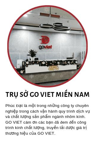 Công ty Go Viet phản hồi về dịch vụ nhôm kính Phúc Đạt