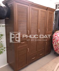 Địa chỉ đóng tủ quần áo giá rẻ TPHCM theo yêu cầu - Giá tốt 2021