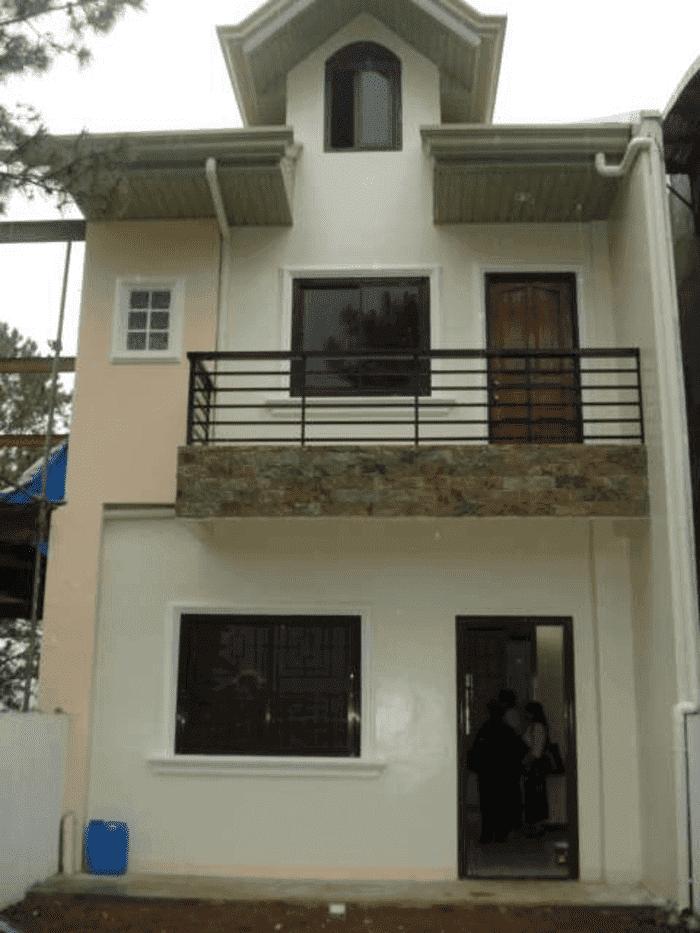 Mẫu 30: Mẫu nhà 2 tầng đơn giản, đẹp nhất năm 2019
