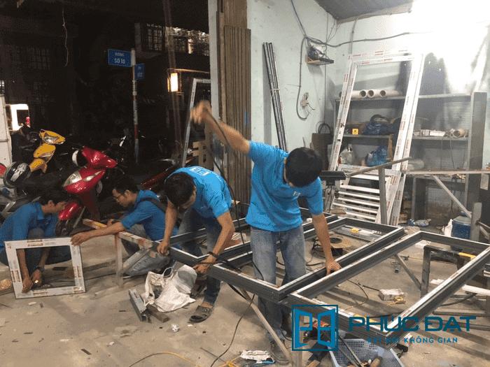 Tuyển dụng Thợ nhôm kính – Thợ nhôm Xingfa lương cao tại TpHCM