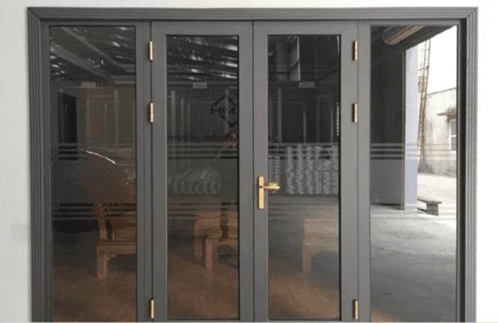 Hệ cửa nhôm Xingfa cầu cách nhiệt 2 cánh mở quay.