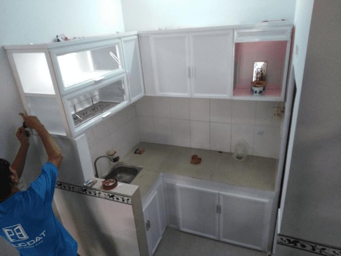 Tủ bếp mini giá rẻ cho chung cư nhỏ