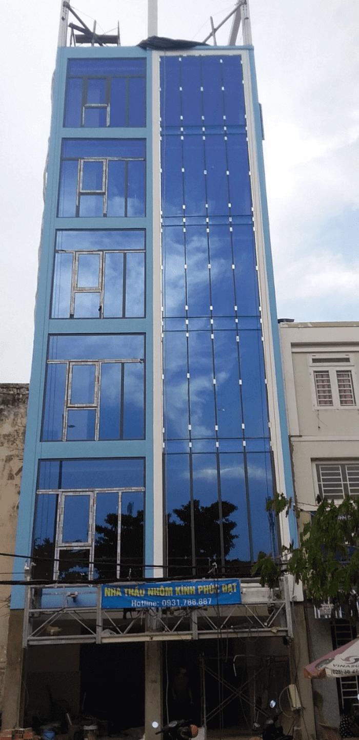 Sản phẩm do Phúc Đạt Door lắp đặt tại đường Nơ Trang Long, Bình Thạnh.