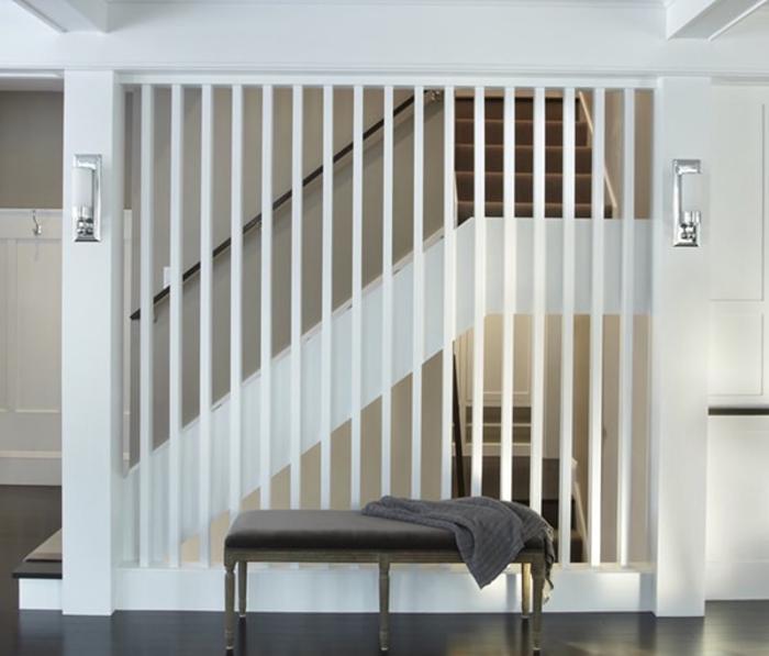 Lam nhôm hộp trang trí vách cầu thang - Lam nhôm trang trí phòng khách.