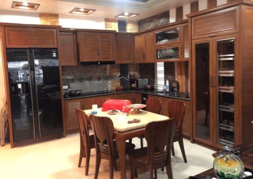 Top 29+ mẫu tủ bếp tân cổ điển, tủ bếp cổ điển đẹp lắp đặt giá tốt 2020