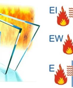 So sánh ba loại kính chống cháy E, EW, El