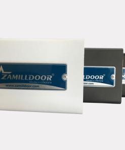 Sản phẩm của Zamilldoor có tem nhôm ăn mòn phía trên nắp ray trượt.