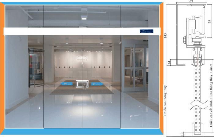 Cửa lùa Zamilldoor chất lượng cao cấp và có giá tốt hơn các loại cửa tự động khác.