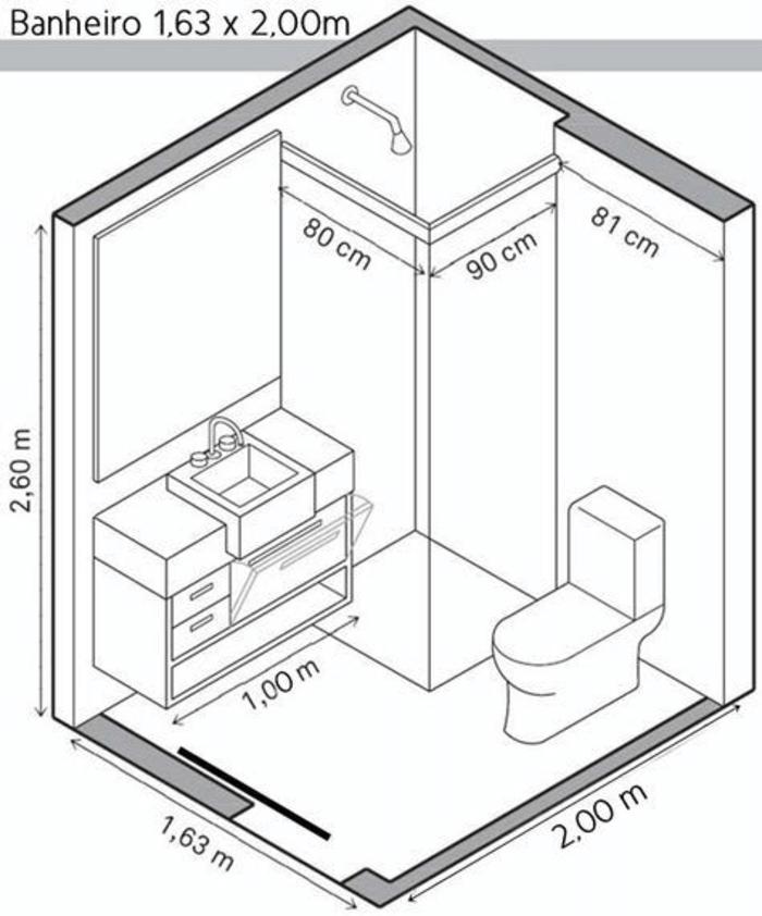 Kích thước bồn tắm đứng 800x900 góc tường.