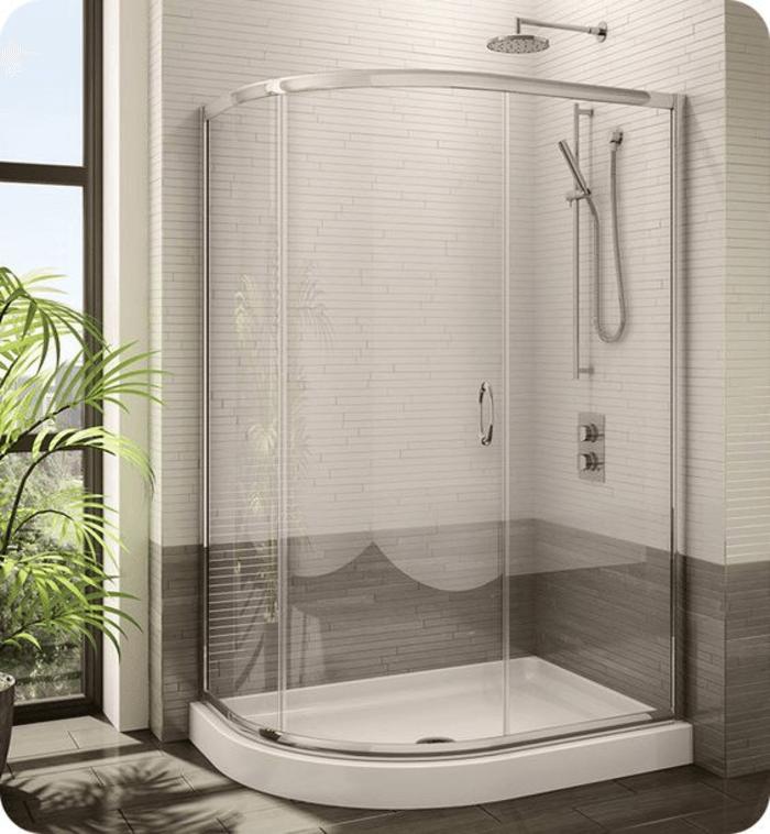 Mẫu cabin tắm kính lắp sẵn chi cần mua về nối nước và sử dụng.