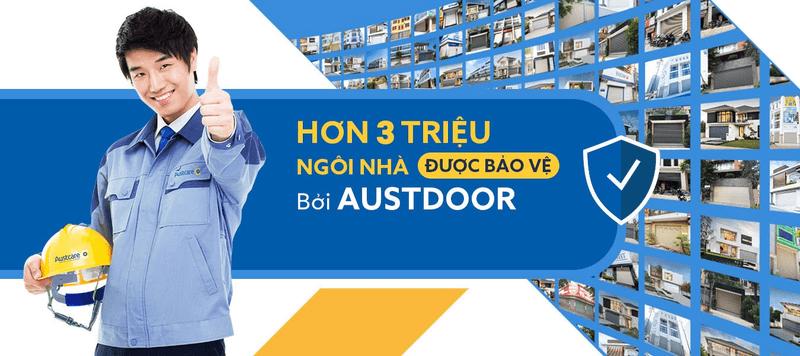 Cửa cuốn Austdoor được nhiều người Việt tin tưởng sử dụng, là thương hiệu cửa cuốn có thị phần cao nhất cả nước.