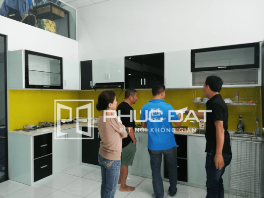 Mời tham quan showroom tủ bếp Hà Nội & TPHCM - Tủ Bếp Phúc Đạt