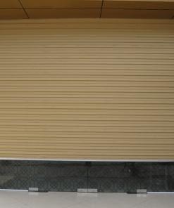 Bảng báo giá cửa cuốn Đài Loan giá rẻ 2021 cửa kéo tay, tấm liền