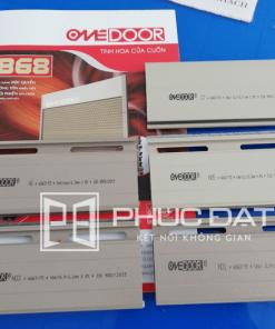 Lá cửa cuốn Onedoor mẫu các mã C7, N01, N03, N05 & X6 tại showroom cửa cuốn Phúc Đạt Door.