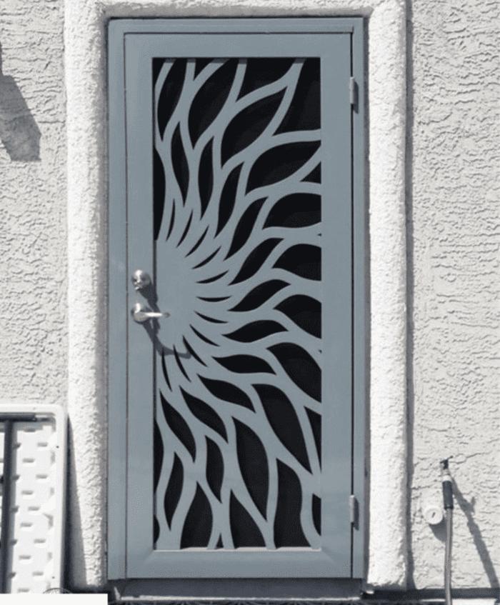 Mẫu cửa cắt CNC đẹp sử dụng cho cửa 1 cánh.
