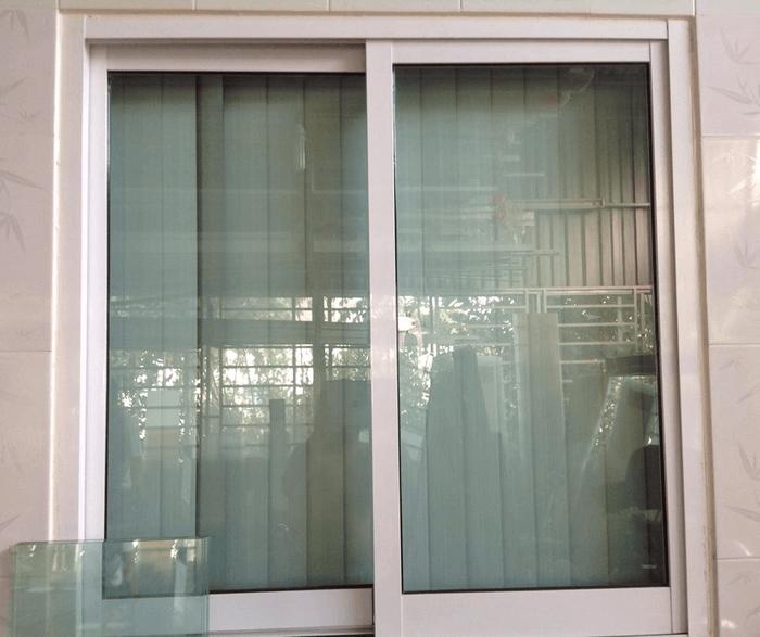 Cửa sổ lùa nhôm Đài Loan đẹp.