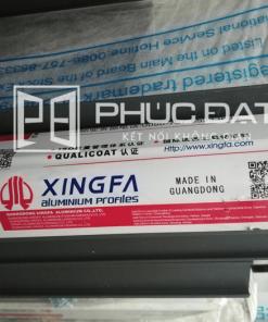 Thanh nhôm Xingfa hệ 1000 nhập khẩu chính hãng tại xưởng gia công lắp đặt Nhôm Kính Phúc Đạt.