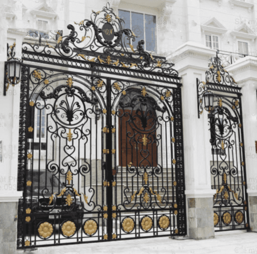 Mẫu trụ cổng xây đẹp.