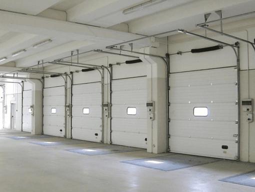 Báo giá cửa cuốn trượt trần Overhead, cửa cuốn gara ô tô giá tốt 2021