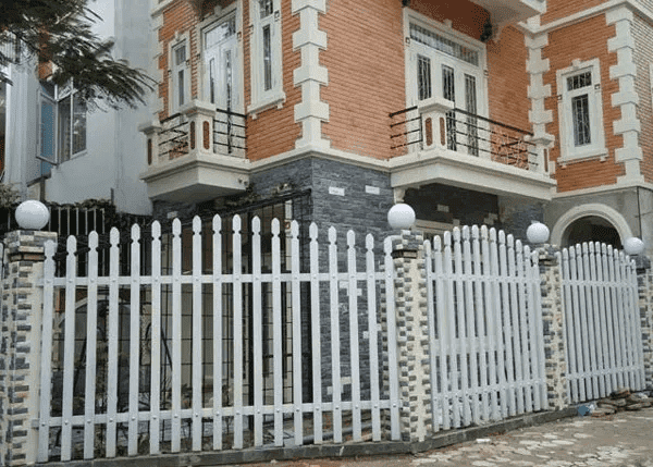 Cổng cửa rào sắt hộp đẹp.