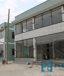 Công trình mặt dựng nhôm kính Xingfa tại huyện Bình Chánh, TpHCM