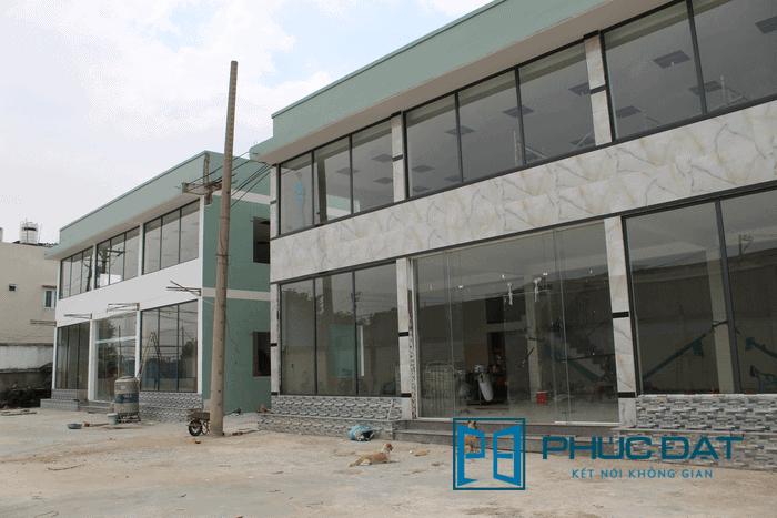 Công trình Mặt dựng nhôm kính Xingfa – H.Bình Chánh – TpHCM