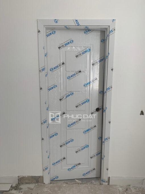 Sản phẩm cửa nhựa giả gỗ ABS Hàn Quốc.