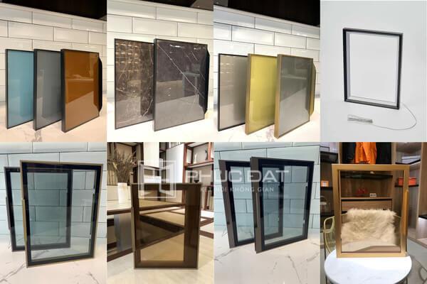 Các mẫu cánh kính tủ bếp tại Phúc Đạt.