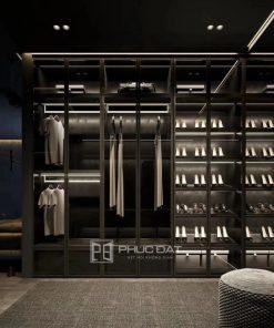 19+ Mẫu tủ quần áo cao cấp từ vật liệu nhôm kính nhập khẩu đẹp & sang