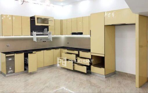 Báo giá Tủ Bếp Inox 2021: cánh gỗ, inox cánh kính - Ưu đãi tới 10%