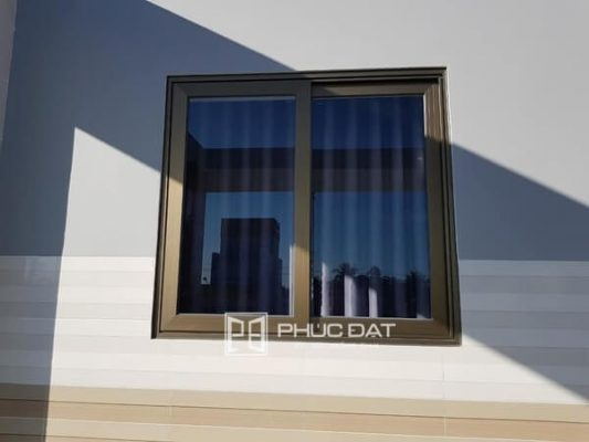 Mẫu cửa sổ lùa nhôm Xingfa hệ 55 đẹp.