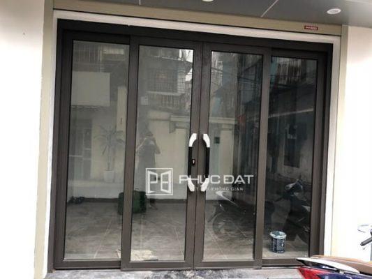 Công trình nhôm kính tổng thể nhà chú Sơn - Long Biên, Hà Nội