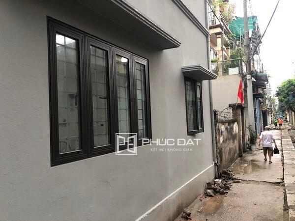 Công trình nhôm kính Xingfa tại Long Biên, Hà Nội.