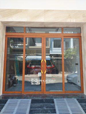 Công trình cửa nhôm Zhongkai trượt quay lắp đặt tại Đà Nẵng
