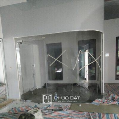 Công trình kính cường lực vách kính, cửa kính tại Biên Hòa, Đồng Nai