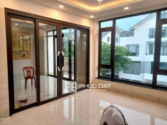 Công trình làm cửa nhôm kính giá rẻ TPHCM thi công bởi Phúc Đạt.
