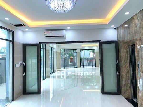 Công trình cửa nhôm kính Phúc Đạt thi công trong tháng 05/2021 có các hệ cửa nhôm Xingfa, Zhongkai.