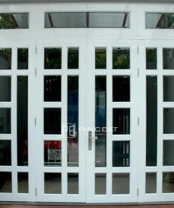 Mẫu cửa nhôm kính 4 cánh hệ 1000 đẹp - Ưu đãi lắp đặt giá rẻ 2021