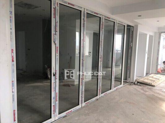 Công trình cửa nhôm kính chung cư HH2 Bắc Hà, Nam Từ Liêm, Hà Nội