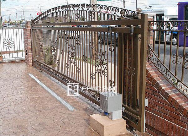Cổng cửa rào đẹp trượt lùa.
