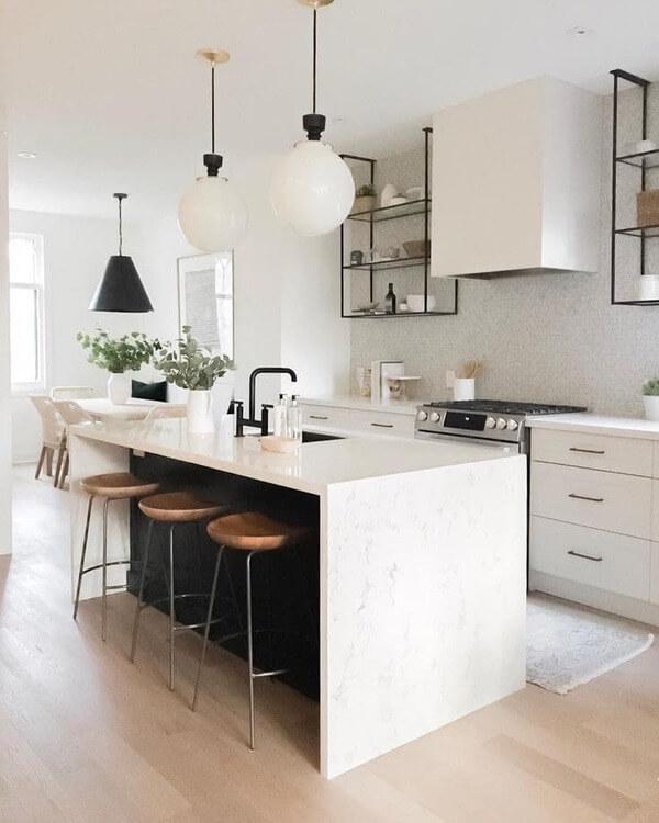 Mẫu đảo bếp mini tối ưu không gian cho nhà nhỏ.