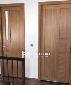 45+ Mẫu cửa nhựa phòng ngủ lõi thép & cửa nhựa giả gỗ đẹp giá rẻ
