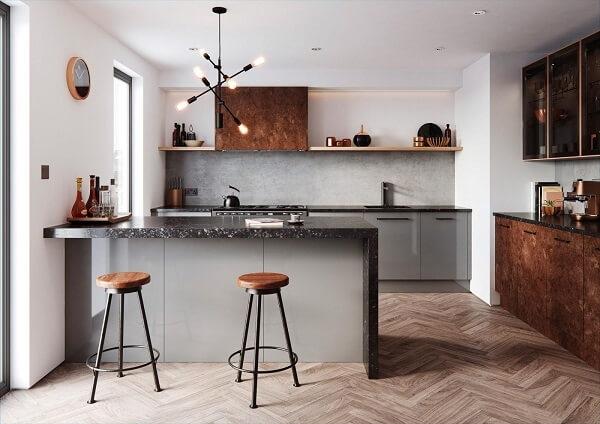 Vị trí đặt bếp theo phong thủy với hướng bếp được xác định dựa theo người chủ trong gia đình.