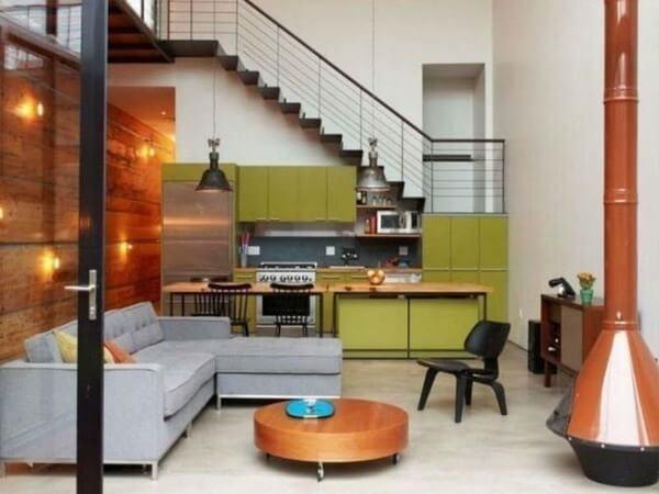 Khi thiết kế bếp dưới gầm cầu thang cần tránh những ảnh hưởng xấu khi không hợp phong thủy.