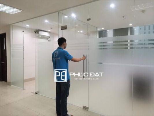 Công trình vách kính văn phòng số 79 Nguyễn Đình Chiểu, Quận 3, TPHCM